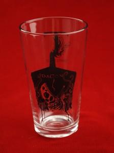 Dagon glass empty