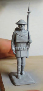 "A rough prototype of the upcoming pewter figure from ""The Stuff of Legend."""