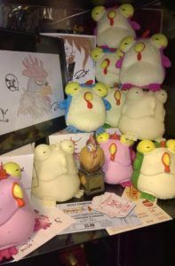 Hey #SkeltonCrew, here is more Chogs than you can shake a stick at... Though, I wouldn't, they are protected by Poyo! (via Charles Joy)