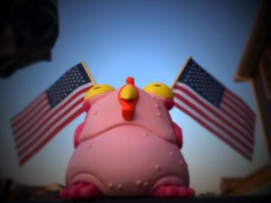 """This 4th of July we celebrate patriotism, freedom, & chogs"" (via Iamjhil)"